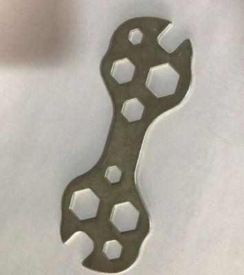 【23279】自行车多孔平扳手 自行车工具