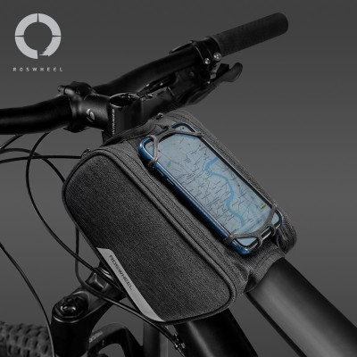 【121461】ROSWHEEL乐炫 ESSENTIAL 新乐活系列 自行车上管包通用手机支架