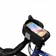 【112003】SAHOO 鲨虎新品 自行车车头包 带遮阳板