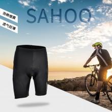 【482051】SAHOO鲨虎男女中性自行车短裤 泡棉垫莱卡面料骑行裤