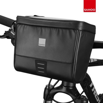 【112049】新品 SAHOO自行车TRAVEL系列自行车车把包带地图袋