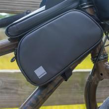 【122056】SAHOO品牌TRAVEL系列自行车智能手机上管双包带指纹解锁功能带遮阳板