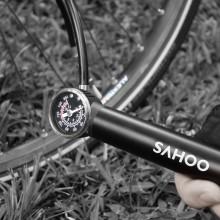 【311403】新品SAHOO品牌带气压表迷你打气筒充气泵