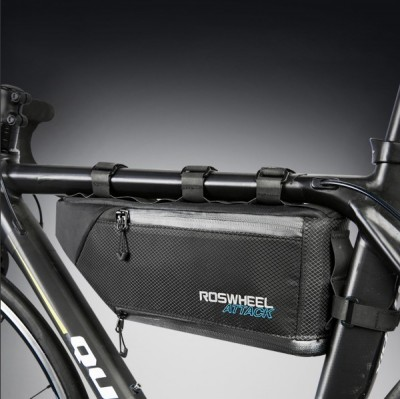 【121371】ROSWHEEL乐炫 ATTACK硬汉系列 自行车包上管包 防水包 (新品)