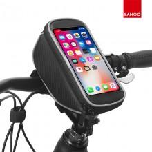【11810】 质感系列 自行车把立包 触屏手机包