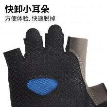 【411218】新品SAHOO 鲨虎自行车短指手套