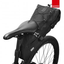 【131385】SAHOO 新品 自行车尾包大容量尾包鞍座包