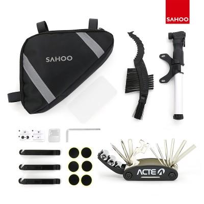 【212101】SAHOO 新品自行车修补套装 修理工具