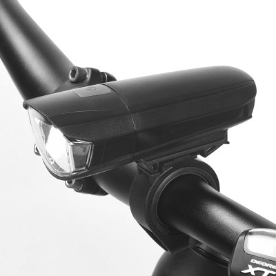 【71384】SAHOO鲨虎自行车灯车前灯山地车前灯夜骑灯