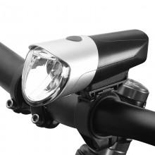 【71385】SAHOO鲨虎自行车灯车前灯USB充电山地车前灯夜骑灯